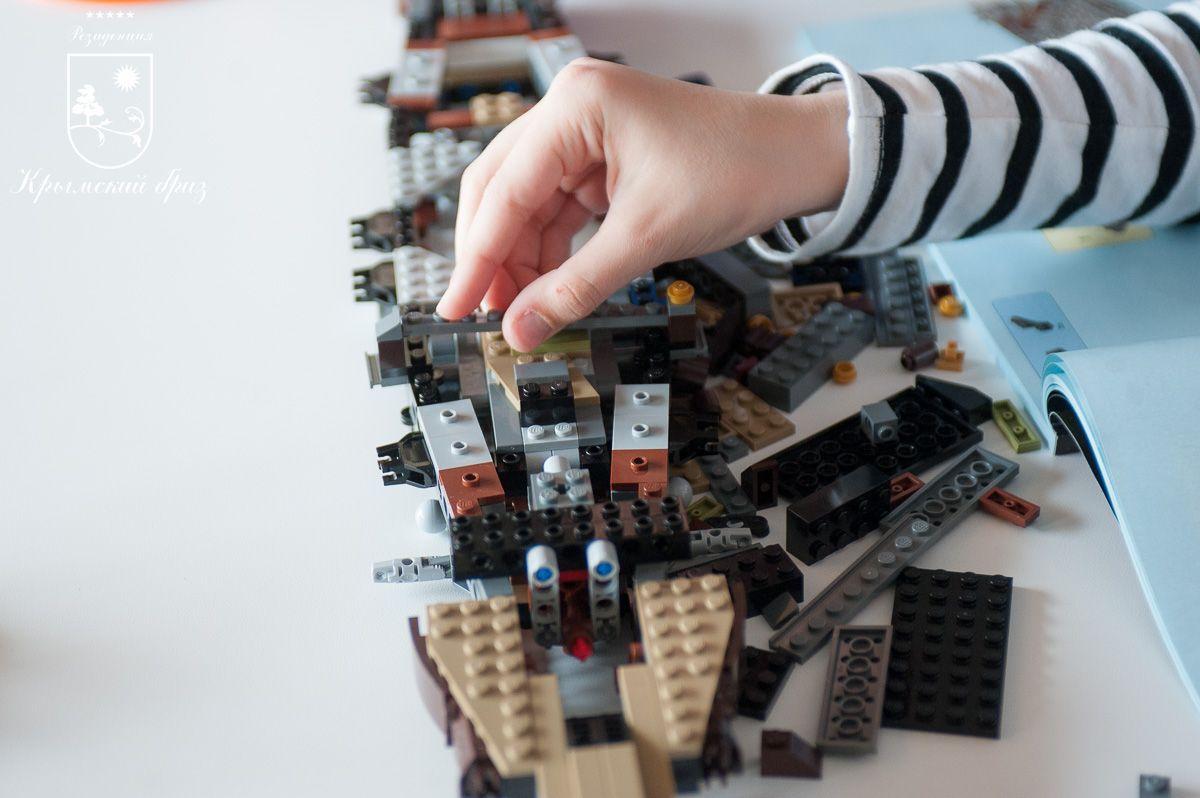 Весенние LEGO-каникулы