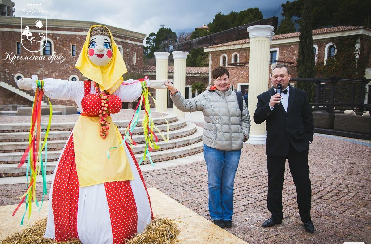 Масленица. Проводы Зимы. | Резиденция Крымский Бриз