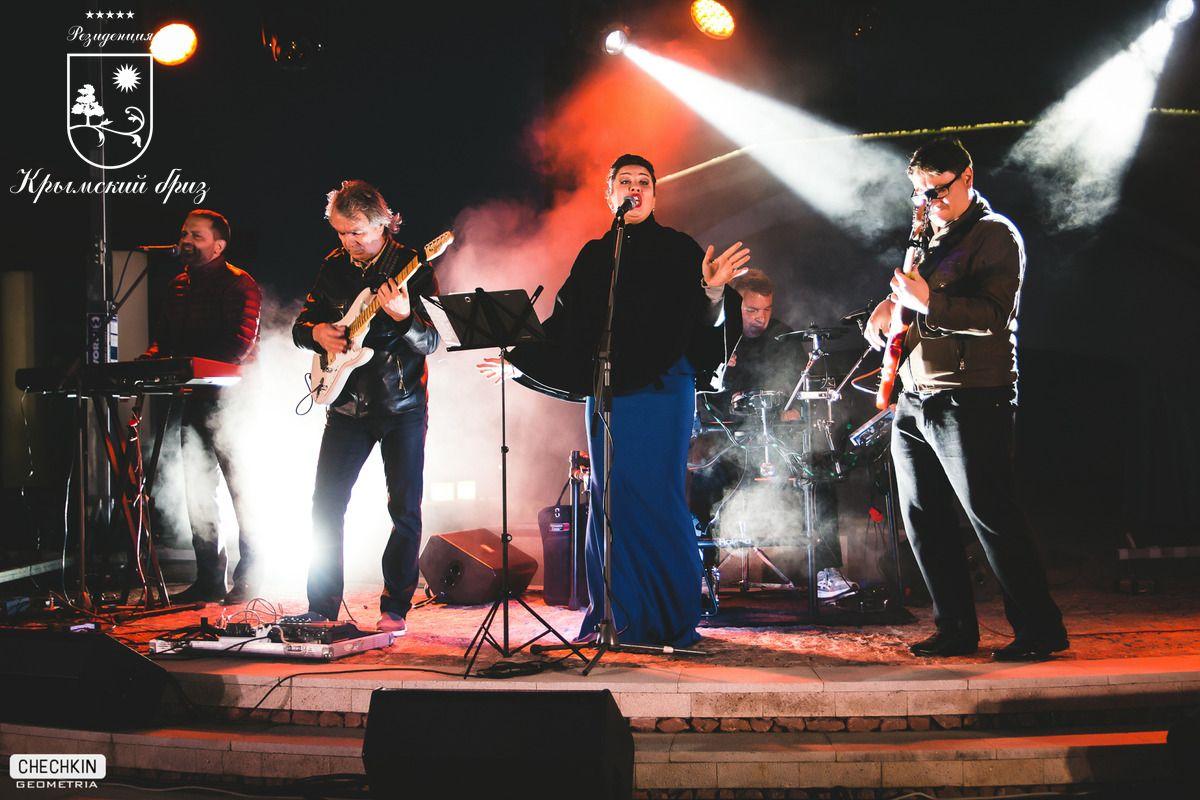 Концерт Луи Остина - джазмен из Вены
