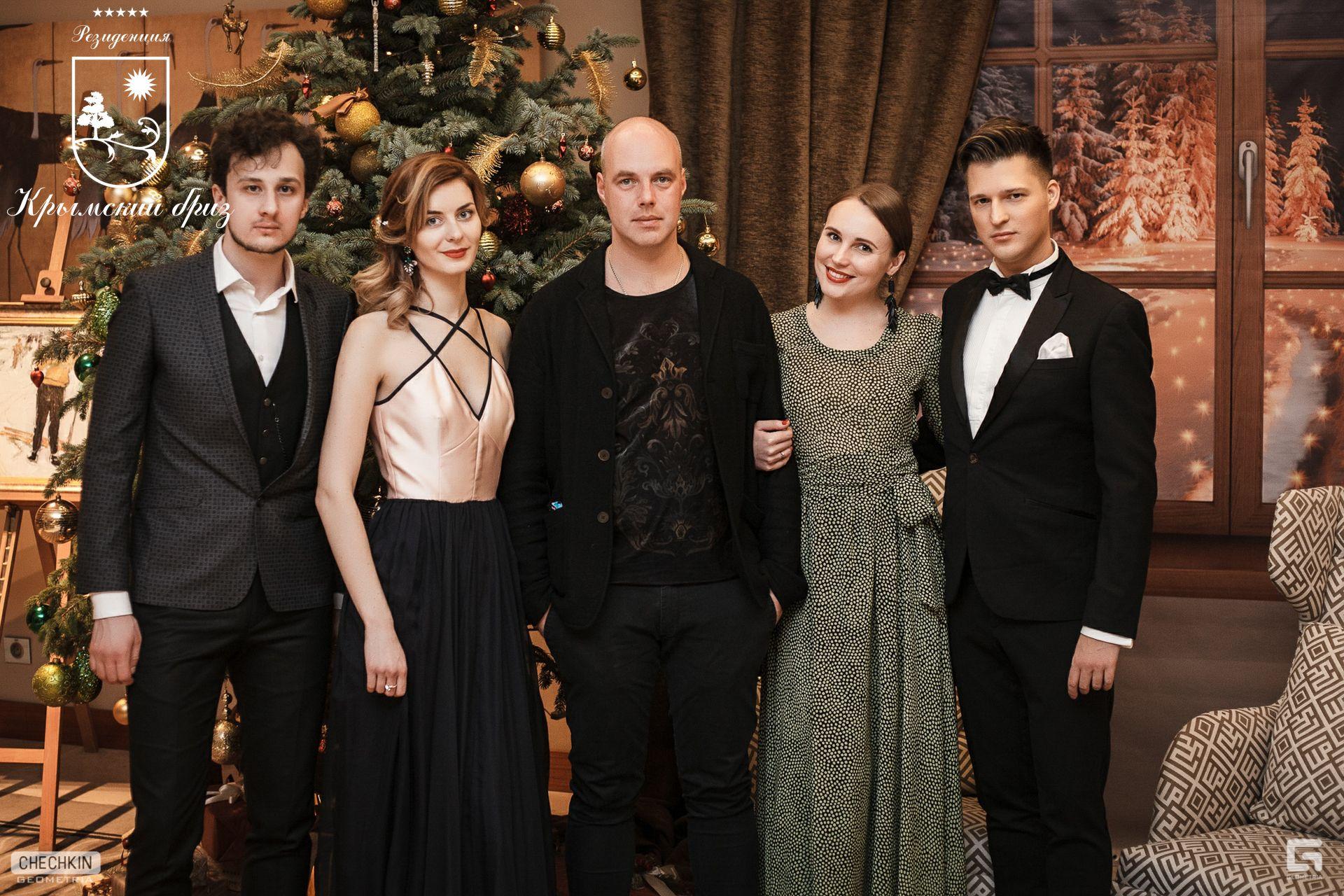 Рождественские оперные арии в исполнении солистов большого театра