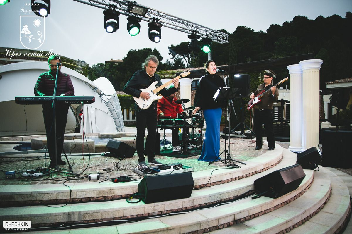 Концерт Луи Остина - джазмен из Вены | Резиденция Крымский Бриз